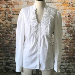 3/$25 East 5th white blouse